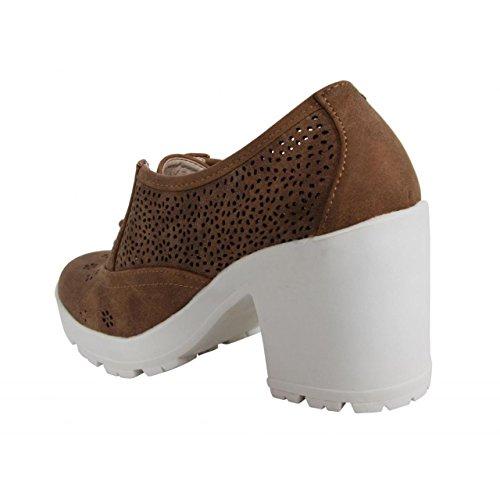 Zapatos de tacón de Mujer MTNG 52284 MAKO MOKA
