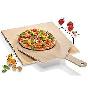 Compra Küchenprofi 10 8650 10 00 - Pala para pizza en madera ...