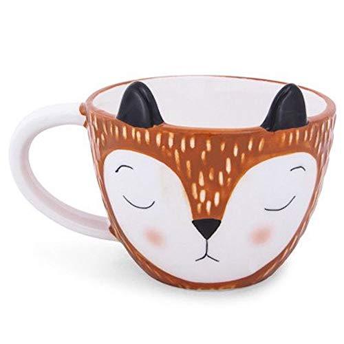 Mug Figural - Cute Fox 3D Figural Coffee Mug Cup