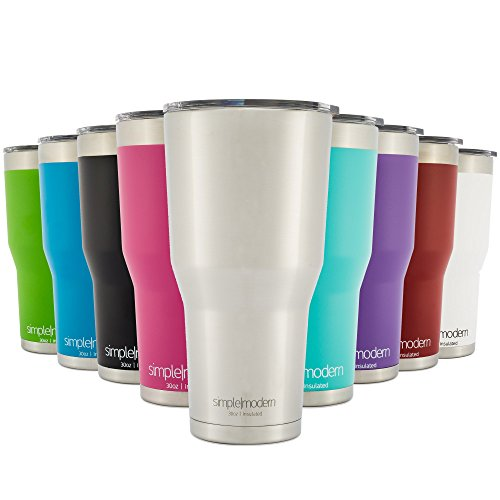 Simple Modern Vacuum Insulated Stainless Steel Tumbler - Double ...