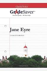 GradeSaver (TM) ClassicNotes Jane Eyre: Study Guide Paperback