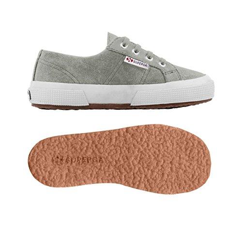 Superga 2750- SUEBINJ S004Z10 - Zapatillas de ante para niños Lt Grey