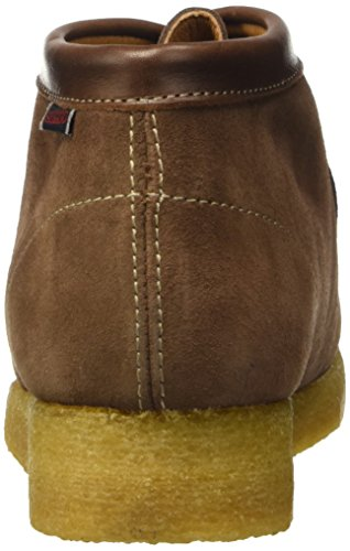 Sebago Koala Hi, Zapatos de Cordones Brogue Unisex Adulto Marrone (Suede Brown)
