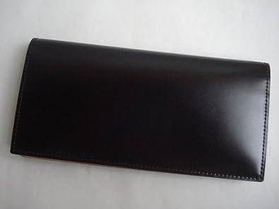reputable site 82a01 44c6a GANZO(ガンゾ)cordvan コードバン 長財布 ブラック