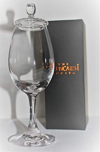 - Glencairn Official Whisky Sherry Nosing Copita Crystal Glass with Tasting Cap 4 floz | Traditional Scottish Whiskey Tasting Glass