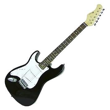 Dimavery ST-203 izquierda para guitarra eléctrica, negro: Amazon.es: Instrumentos musicales