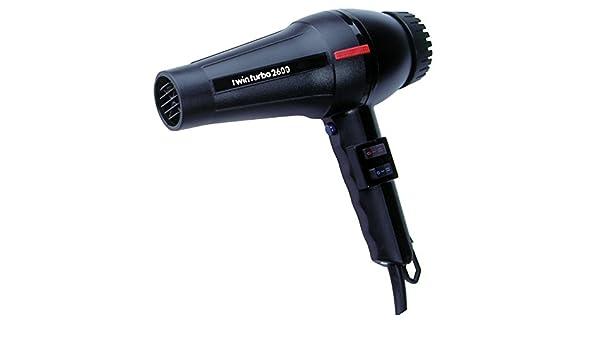 Parlux - Twin Turbo 2600 negro secador de pelo: Amazon.es: Salud y cuidado personal