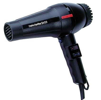 Parlux – Twin Turbo 2600 negro secador de pelo