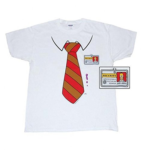 Simpsons Homer Costume T-Shirt-XX-Large