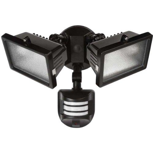 Square Black Finish Motion Sensor Outdoor Ceiling Light in US - 2