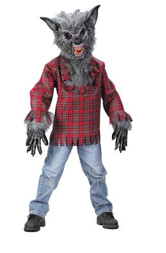 FunWorld 156239 Werewolf Child Costume (Werewolf Costume For Girls)