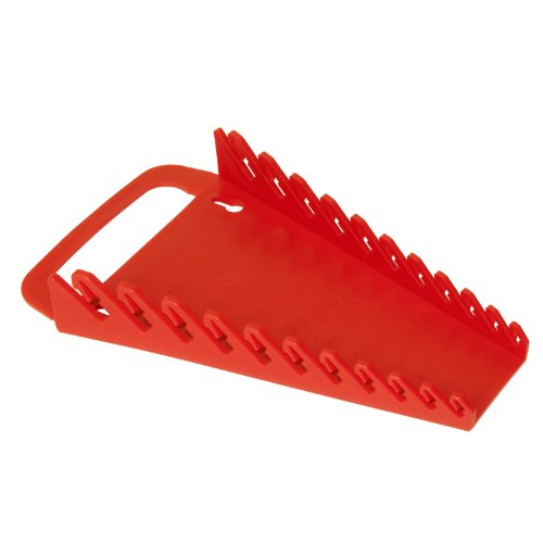 Ernst Manufacturing Gripper Wrench Organizer, 11 Tool, Red