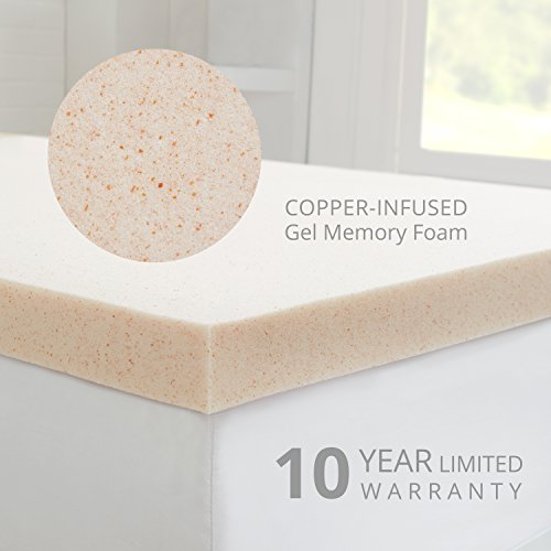 Buy rated gel mattress topper