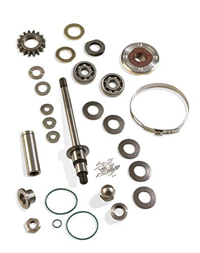 - Supercharger Rebuild Kit SD Inter-cooled Compatible with Sea Doo 4-TEC PWC Sea-Doo 16 Tooth