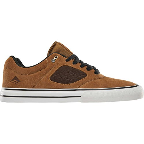 Emerica Men's Reynolds 3 G6 Vulc Skate Shoe tan/Brown 11 Medium US ()