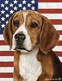 "Beagle by Tamara Burnett Patriotic II House Dog Breed Flag 28"" x 40"" Review"