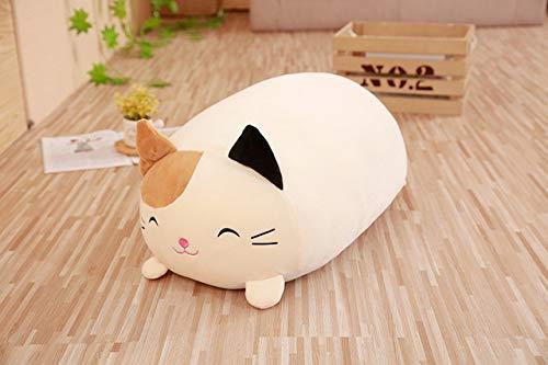 NATTEL 30 cmSoft Animal Cartoon Pillow Cushion Cute Fat Dog Cat Penguin Pig Frog Plush Toy Stuffed Lovely kids Birthyday Gift ()