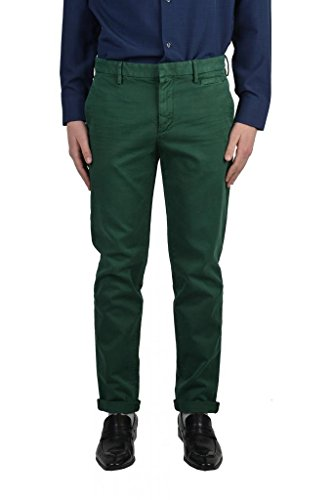 Prada Men's Green Flat Front Pants US 30 IT 46;