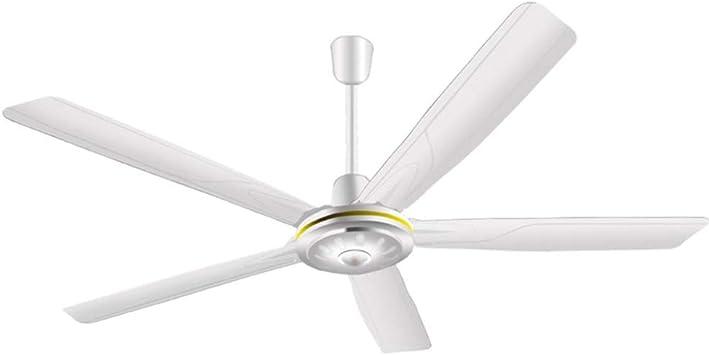 YPY Ventilador de Techo Mudo Casa Oficina Ventilador Eléctrico el ...