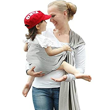 Accmor Ring Sling Baby Carrier Breathable Mesh Baby Sling Wrap Baby Wrap Carrier For Infants And