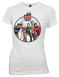 Ripple Junction Big Bang Theory Group Shot Junior T-Shirt