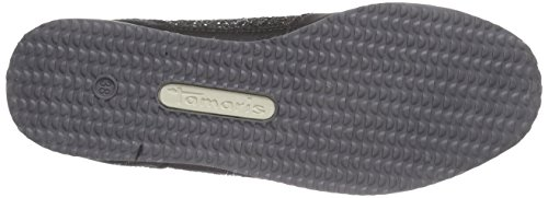 da 23601 Donna Nero 091 Glam Ginnastica Tamaris Scarpe Black qExwIdX7X