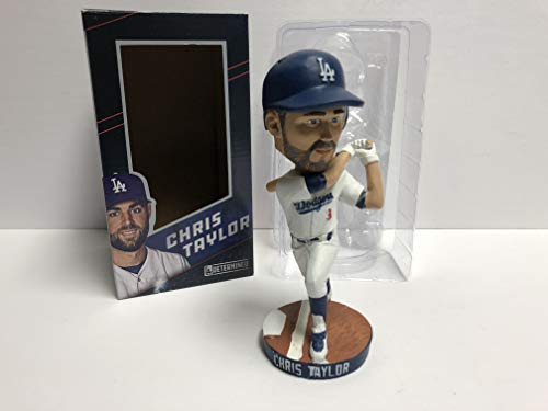 Chris Taylor 2018 Los Angeles Dodgers Bobblehead Bobble SGA