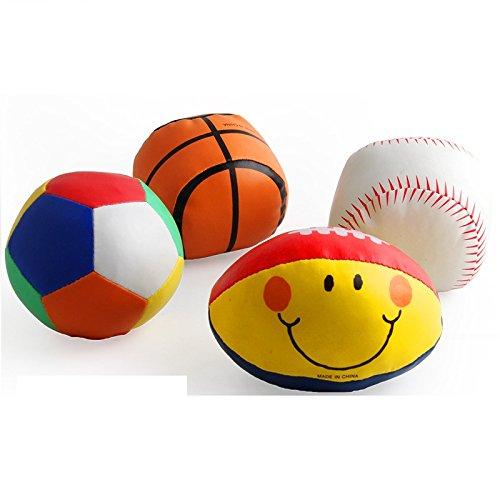 Juguetes para Bebés y Niños Pequeños 4 Piezas Bebé Bebé Pelota de ...