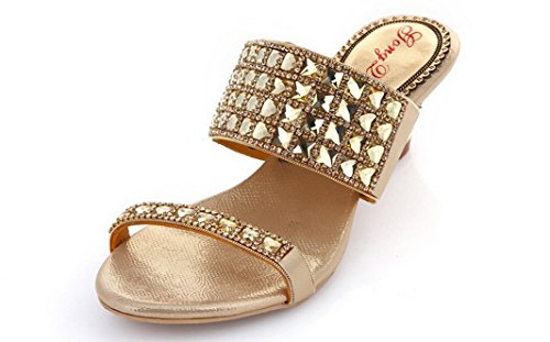 CFP ,  Damen Sling Backs Gold