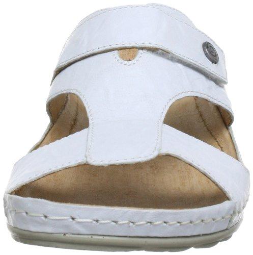 Mejor vendido Comprar oferta a la venta Zapatos blancos con velcro formales Dr.Brinkmann para mujer hwHac7xts