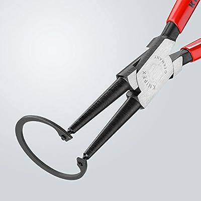 KNIPEX Tools - Circlip Pliers, Internal, Straight, 1 37/64