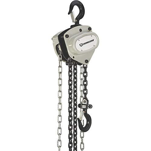 Strongway Manual Chain Hoist - 4400-Lb. Capacity, 20ft. Lift