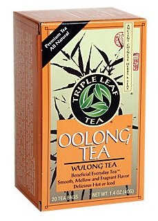 Tripe Leaf OOlong Tea WULONG TEA 20 tea bags (2 boxes - 40 - Wulong Leaf Tea