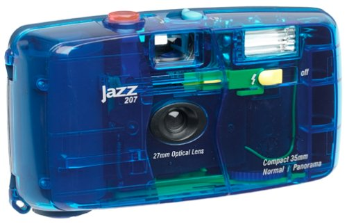Jazz Jellies 35mm Camera, Blueberry by Jazz Photo