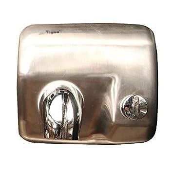 Secador de Manos Comercial Montado en la Pared, Secado Rápido para Baño, Metal Cepillado