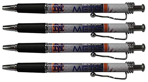 (New York Mets Jazzy Pen 4pk)