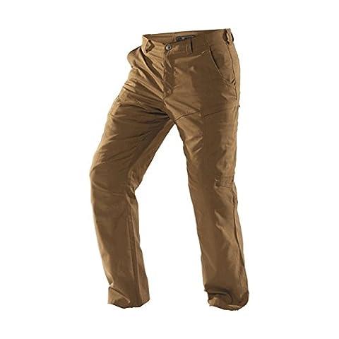 5.11 Men's Apex EDC Pants, Battle Brown, 28W-34L
