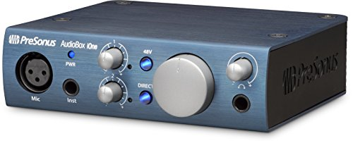 (PreSonus AudioBox iOne 2x2 USB/iPad Audio Interface)