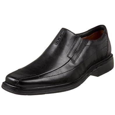 Clarks Unstructured Men's Un.Sheridan Dress Casual Slip On,Black,7.5 M US