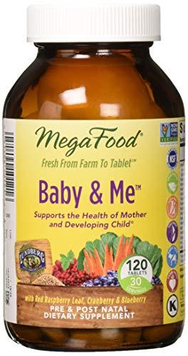 MegaFood - Baby & Me, Prenatal and Postnatal Supplement to S