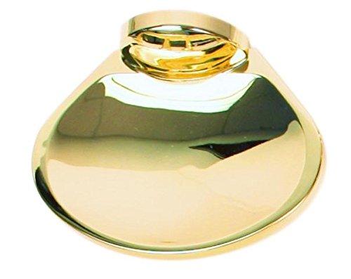 Moen Aspen Polished Brass Wall Mounted Soap Dish, 5836PB