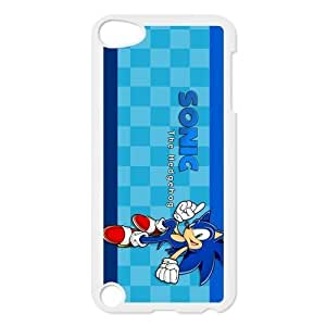 SpecialCasedesign Personalized Sonic the Hedgehog Ipod Touch 5th Case Best Durable Back Cover hjbrhga1544