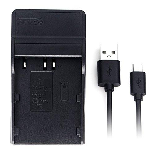 EN-EL3 Ultra Slim USB Charger for Nikon D100, D100 SLR, D200, D300, D300s, D50, D70, D70s, D80, D90, DSLR D700 Digital Camera