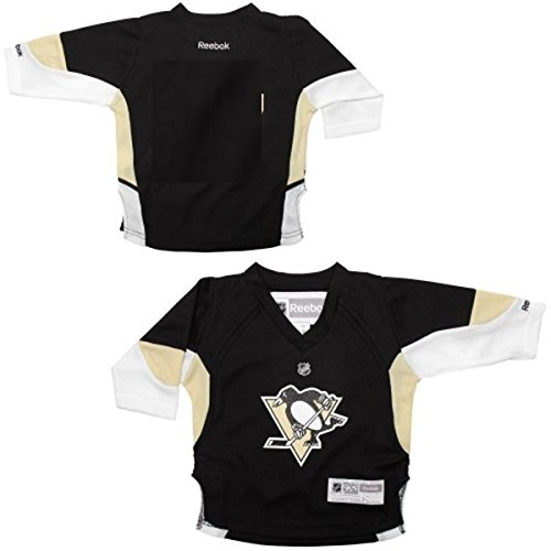 NHL Toddler Pittsburgh Penguins Team Color Replica Jersey - R54Hwbpp (Black, 2-4T) - Toddler Replica Hockey Jersey
