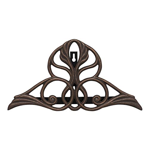 Whitehall Products Victorian Hose Holder, Oil Rub Bronze
