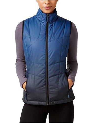 Ideology Women's Dip-Dyed Vest (Medium, Navy Dip Dye) by Ideology