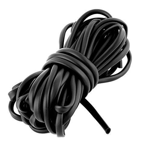 DealMux goma acuario de suministro de oxígeno Tubo flexible tráquea 7,5 M Longitud W ventosas Negro: Amazon.es: Productos para mascotas