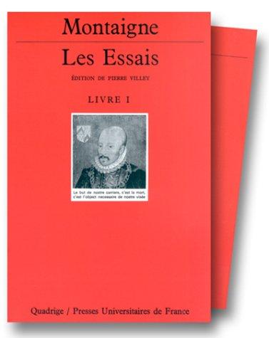 Les Essais, coffret de 3 volumes Relié – 1 septembre 1992 Michel de Montaigne Quadrige 213045142X Université - Philosophie
