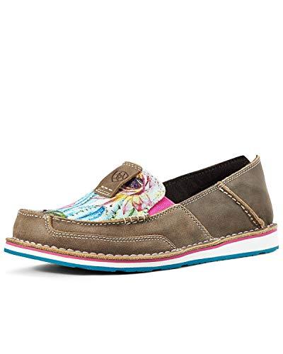 ARIAT Cruiser Women's Slip On 11 B(M) US - Footwear Western Leather