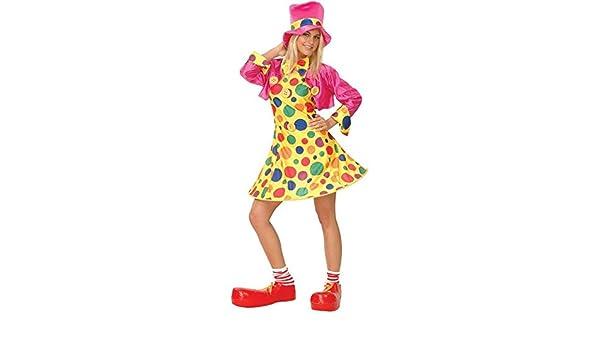 Clown - Disfraz de payaso para mujer, talla XS (EF-2035. XS ...